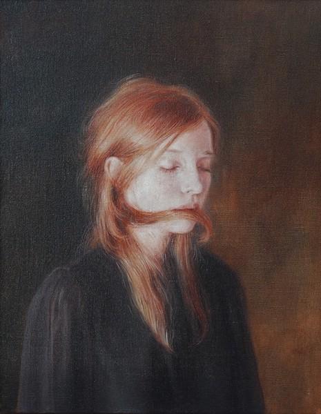 Oil on linen, 30 x 23,7 cm