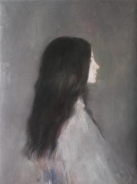 Oil on linen, 61 x 46 cm