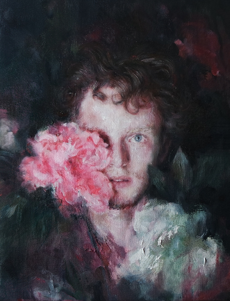 Oil on linen, 32 x 25 cm <br>Private collection